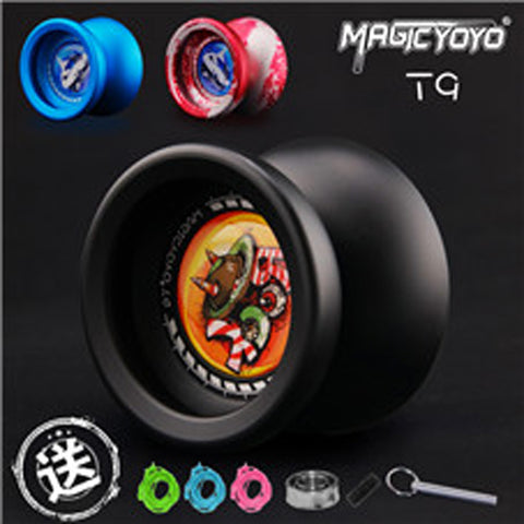 MagicYoYo T9 Aluminum Yo-Yo -Novice to Advanced- Extra Strings Bearing & Bearing Tool