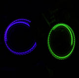 "Zeekio LED  Sock POI - 26"" Stretch Nylon with LED balls"