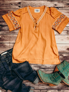 THE MARIGOLD TOP
