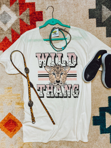 WILD THANG T SHIRT DRESS