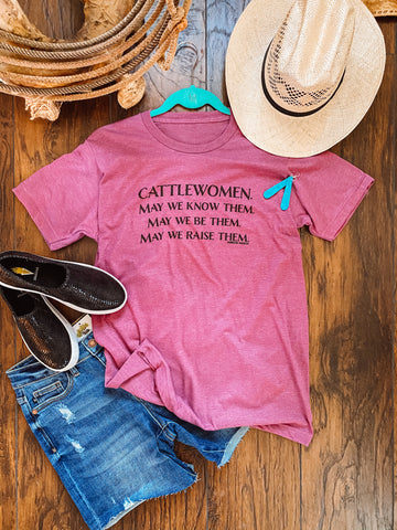 CATTLE WOMEN TEE
