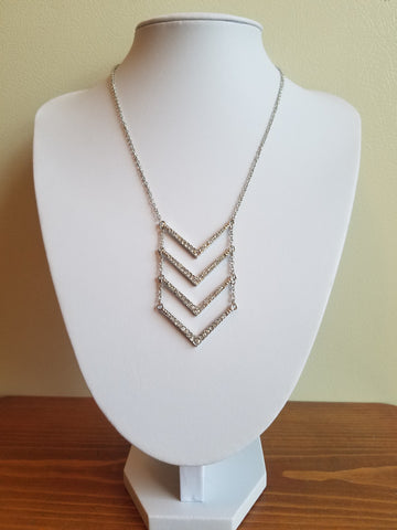 Chevron Necklace - Forever Yours Boutique