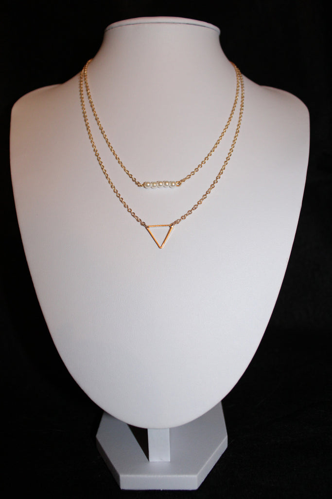 Gold Layered Necklace - Forever Yours Boutique