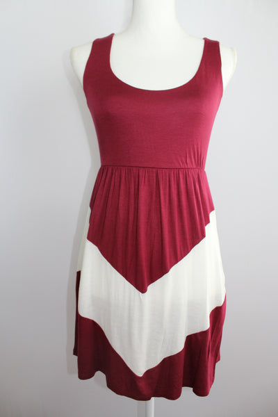 Chevron Tank Dress - Forever Yours Boutique