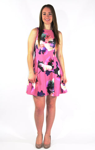 Orchid Floral Dress - Forever Yours Boutique