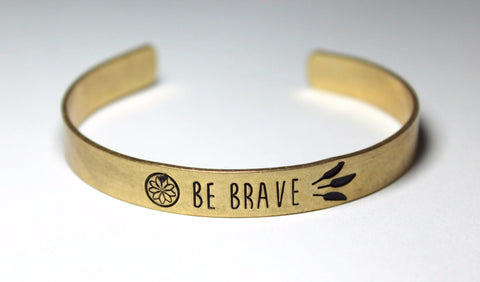 """Be Brave"" Bracelet - Forever Yours Boutique"