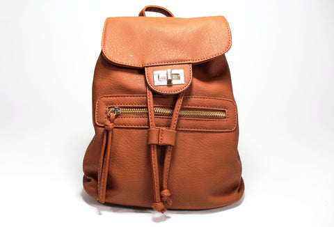 Faux Leather Backpack - Forever Yours Boutique
