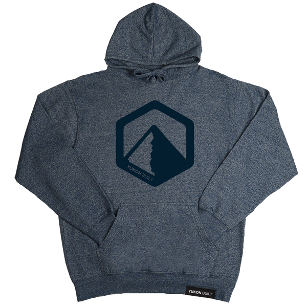 Yukon Built Pullover Hoodie - Navy Heather