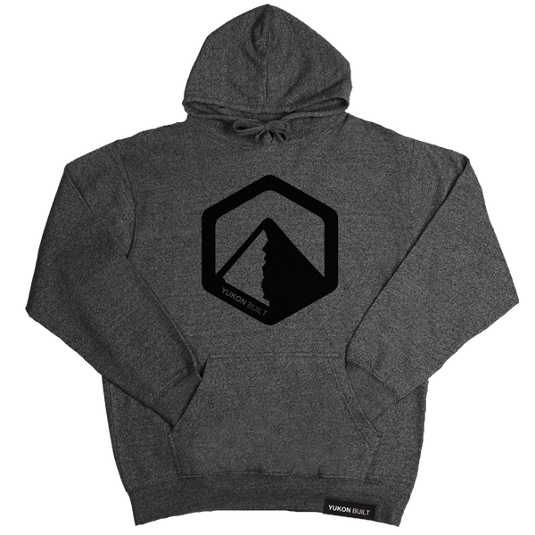 Yukon Built Pullover Hoodie - Charcoal Heather