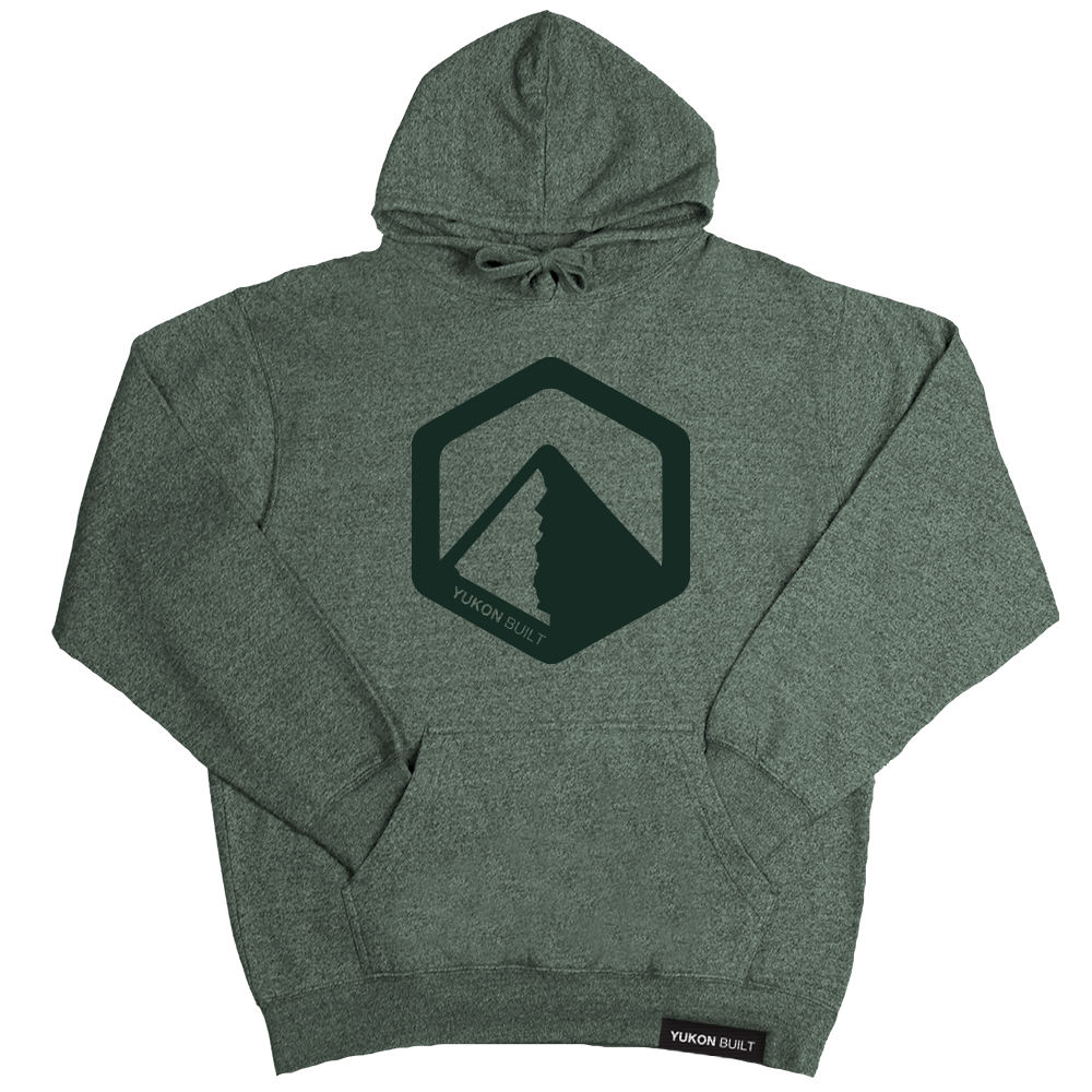 Classic Logo Hoodie - Forest Heather