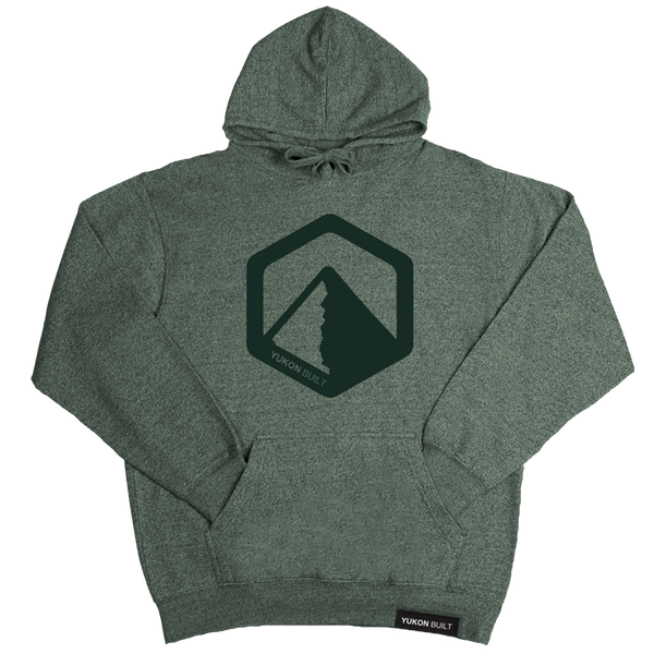 Yukon Built Pullover Hoodie - Forest Heather