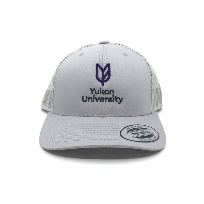 Yukon University Retro Trucker - Silver