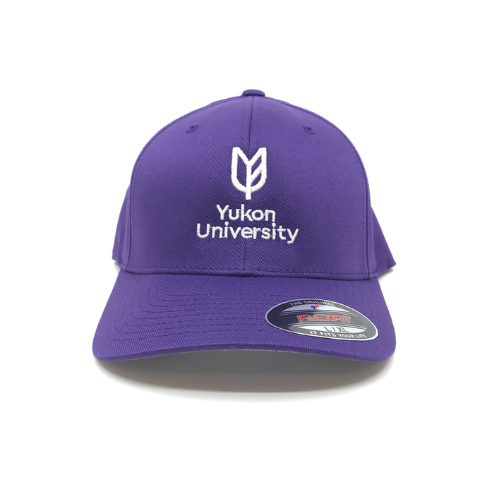 Yukon University FlexFit - Purple