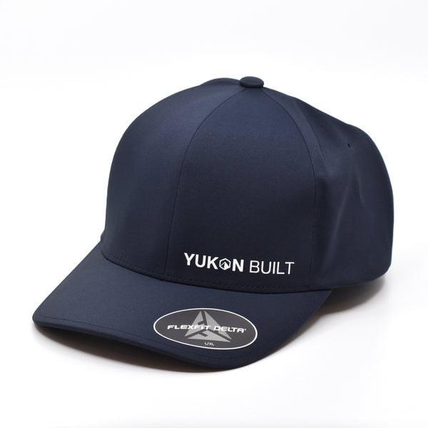 Yukon Built Hat - Performance Flexfit Navy/White