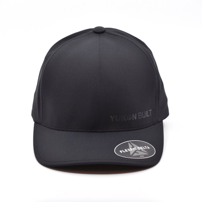 Yukon Built Hat - Performance Flexfit Black/Black