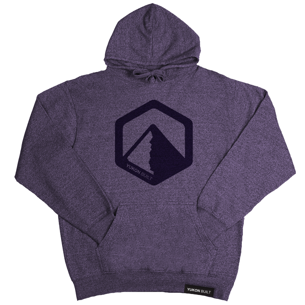 Classic Logo Hoodie - Purple Heather