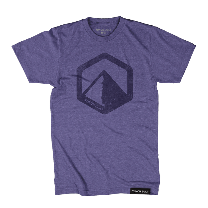 Classic Logo Tee - Purple Heather