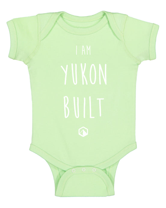 Yukon Built Baby Onesie - Key Lime