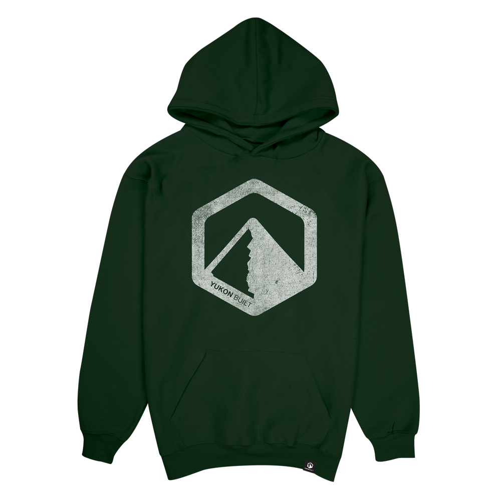 Youth Classic Logo Hoodie - Forest