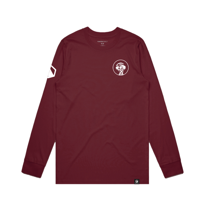 Yukon Quest Long Sleeve - Maroon