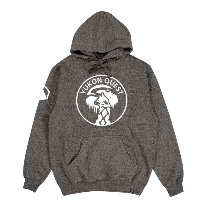 Yukon Quest Hoodie - Charcoal Heather