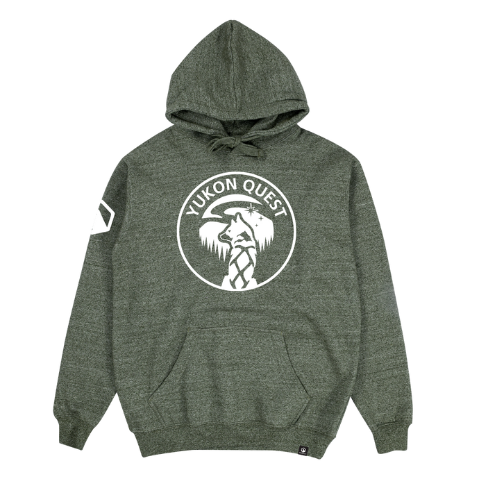 Yukon Quest Hoodie - Forest Heather