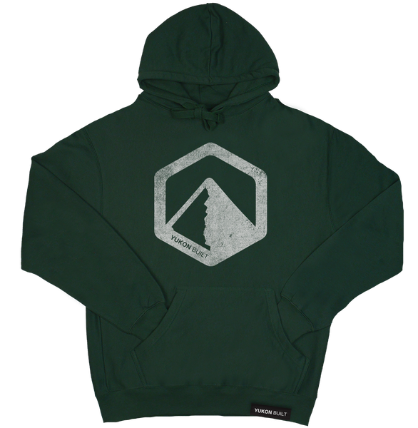 Yukon Built Pullover Hoodie - Forest Green