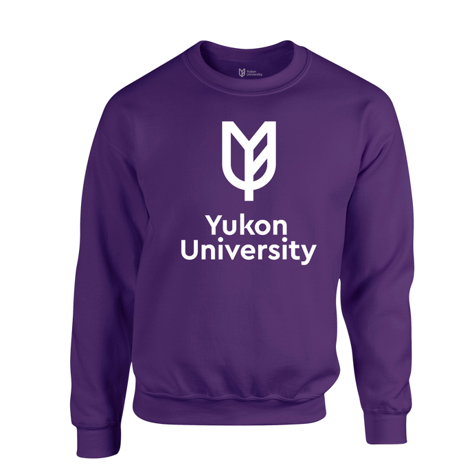 Yukon U Crewneck Sweater - Purple