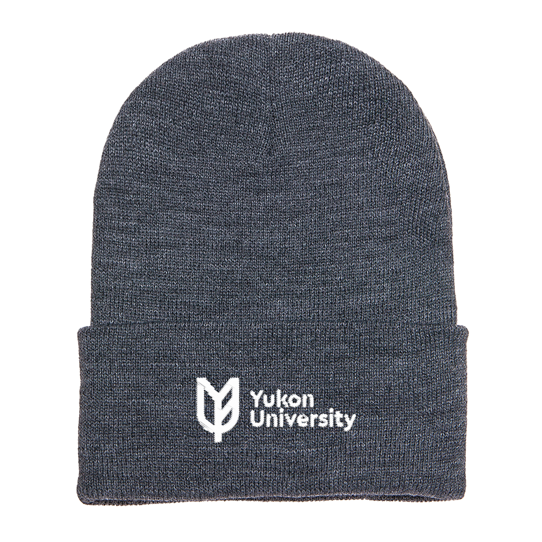 Yukon University Toque - Charcoal