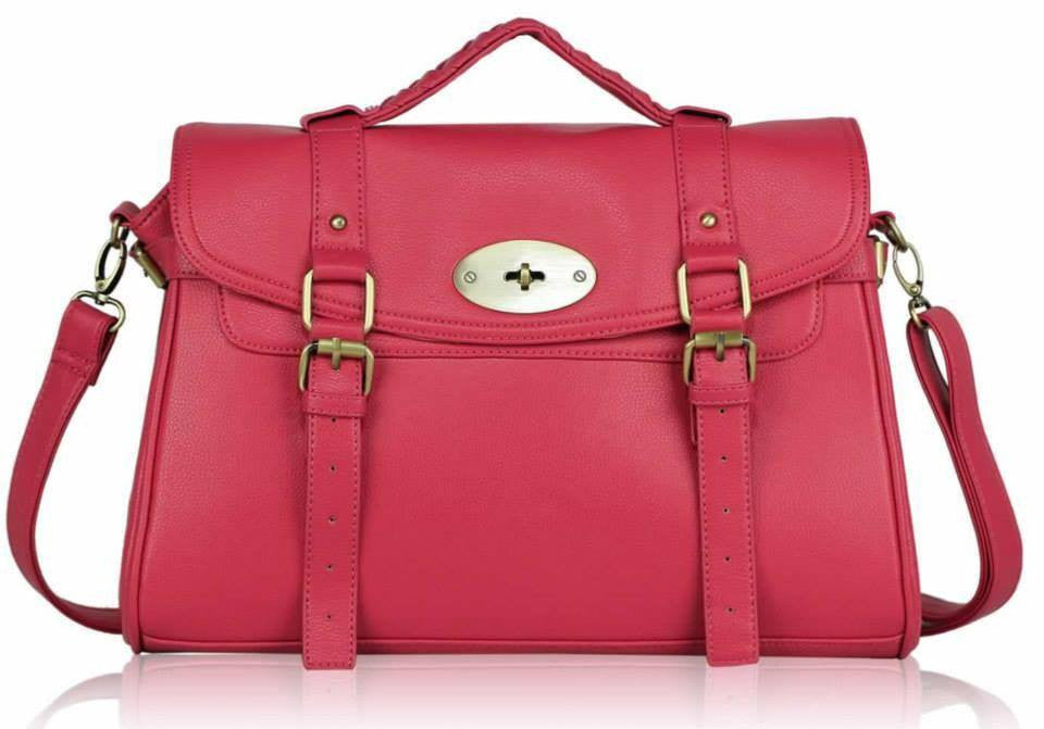 Pink Satchel Celebrity look Handbag