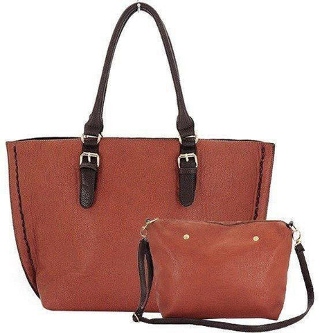 Tote Bag in Bag with Front Zip Pocket