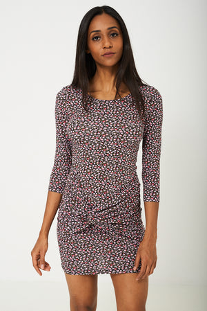BIK BOK Front Wrap Floral Dress, Dresses - First Impression UK