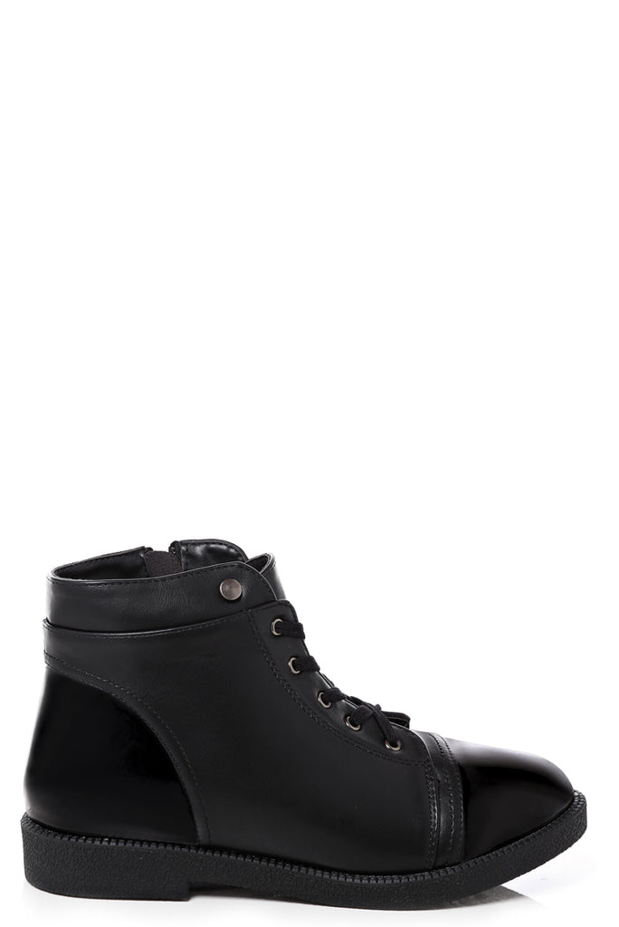 Black Ankle Boots, Boots - First Impression UK