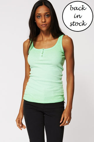 Basic Green Top, Tops - First Impression UK