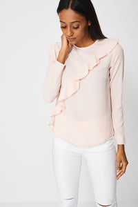 Frill Detail Blouse Ex-Branded - First Impression UK