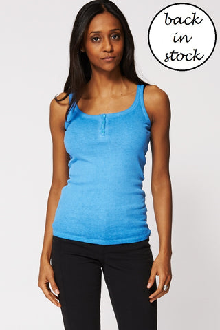 Basic Blue Top, Tops - First Impression UK