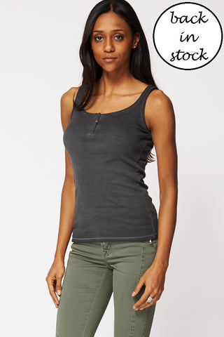 Basic Grey Top, Tops - First Impression UK