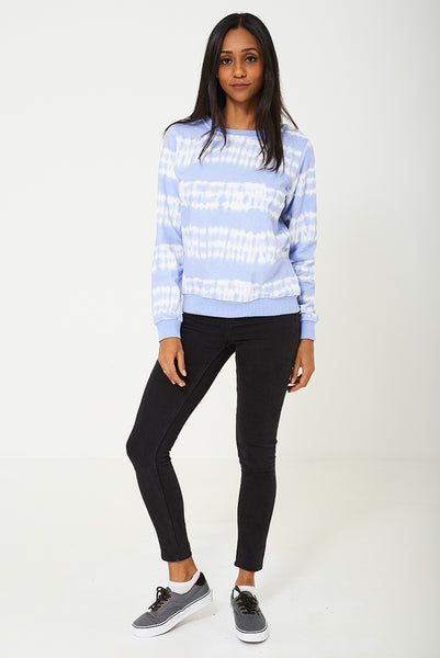 BIK BOK Jumper in Two Tone Blue/White, Tops - First Impression UK