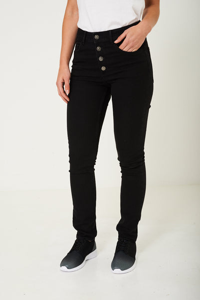 Black Skinny Jeans Ex Brand, Jeans & Trousers - First Impression UK