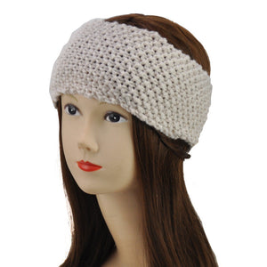 Concise Style Winter Crochet Headband - First Impression UK