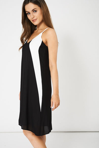 Black And White Dress Ex-Branded Available In Plus Sizes - First Impression UK