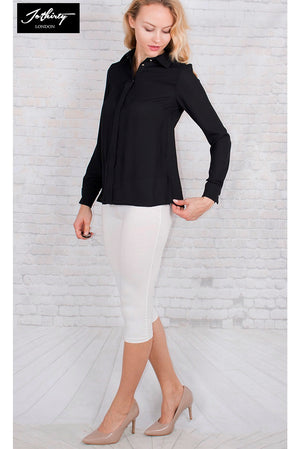 Ladies JOTHIRTY Classic Shirt With Hidden Button Placket