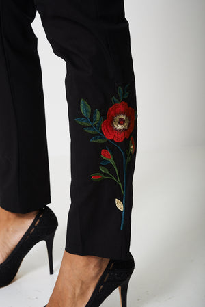 Ladies Exclusive Collection Embroidered Trousers