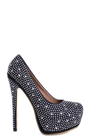 Ladies Embellished High Heels