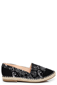 Ladies Monochrome Espadrilles