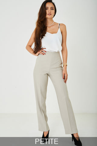 80's Inspired Wide Leg Tailored Trousers