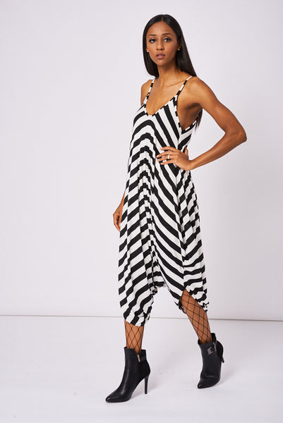 Andy Pandy Jumpsuit In Stripe - First Impression UK