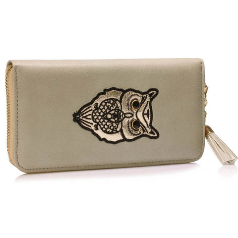 Grey Owl Design Purse/Wallet - First Impression UK