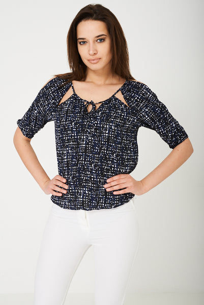 BIK BOK Cold Shoulder Top - First Impression UK