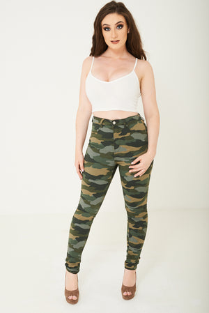 Camo Skinny Jean Ex Brand - First Impression UK